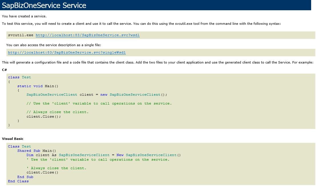 Install Sana Web Service