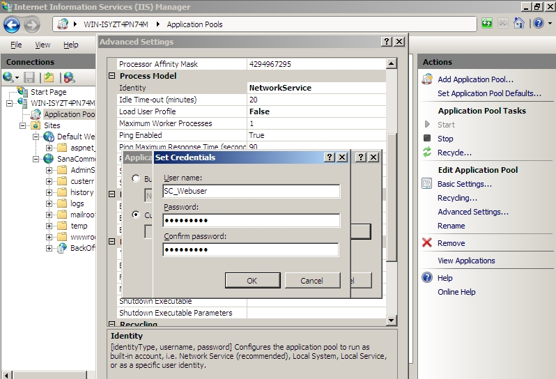 how to run htaccess in iis server