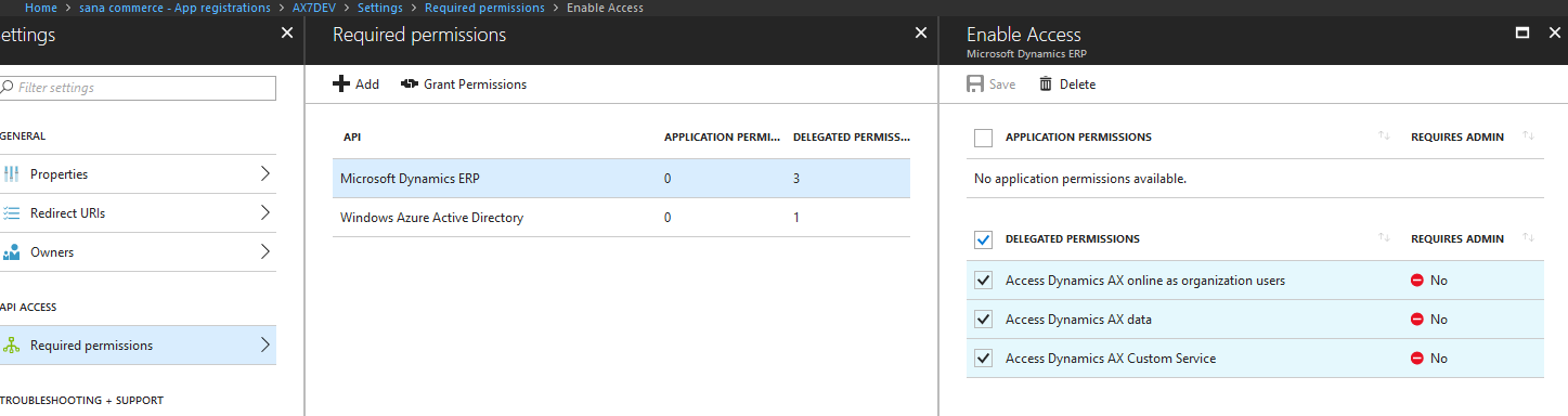 Set up Azure Authorization
