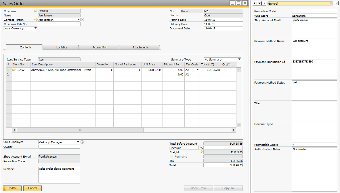 Business Place Table In Sap