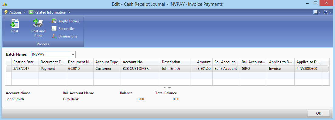 Fish Receipts Pdf Online Invoice Payments Return Receipt Gmail Excel with Electronic Invoicing Pdf In The Cash Receipt Journal Window You Can See All Payment Journal Records  Created For Invoices Paid By The Customers From A Sana Web Store  Invoice Scanning Word
