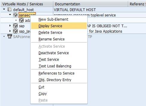 Create Web Service In Sicf