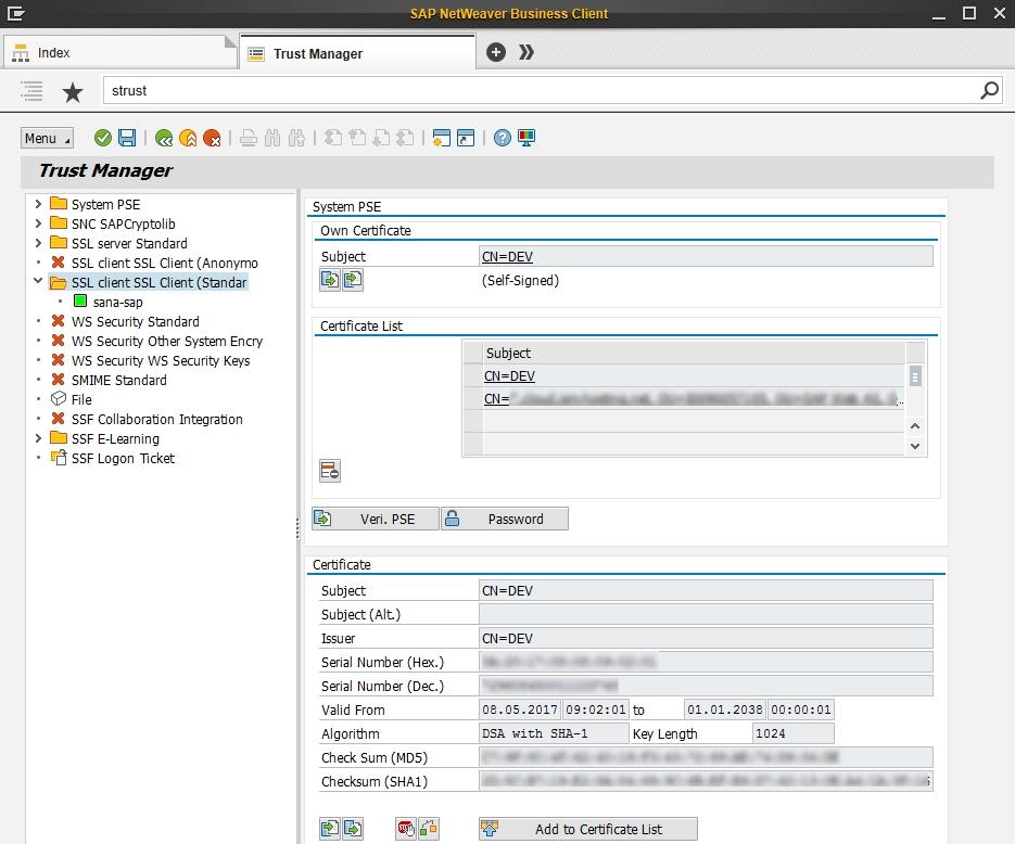 Setup Web Service To Use Ssl